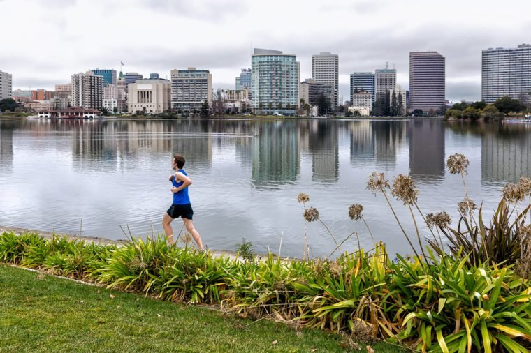 jogging in oakland california