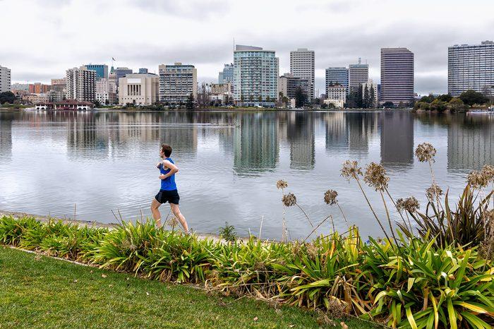 jogging in oakland california