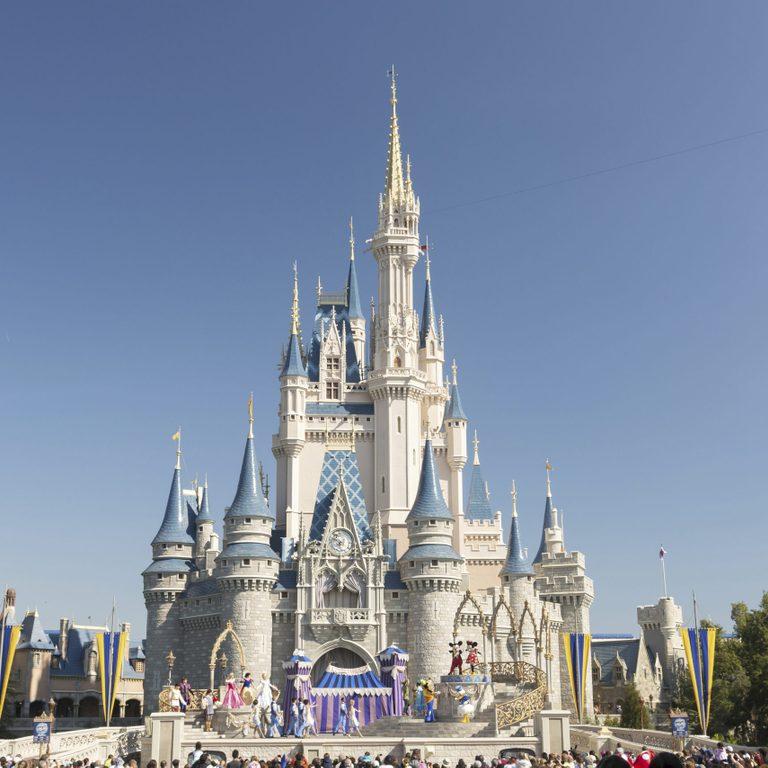 VARIOUS Cinderella Castle in the Magic Kingdom, Walt Disney World Resort