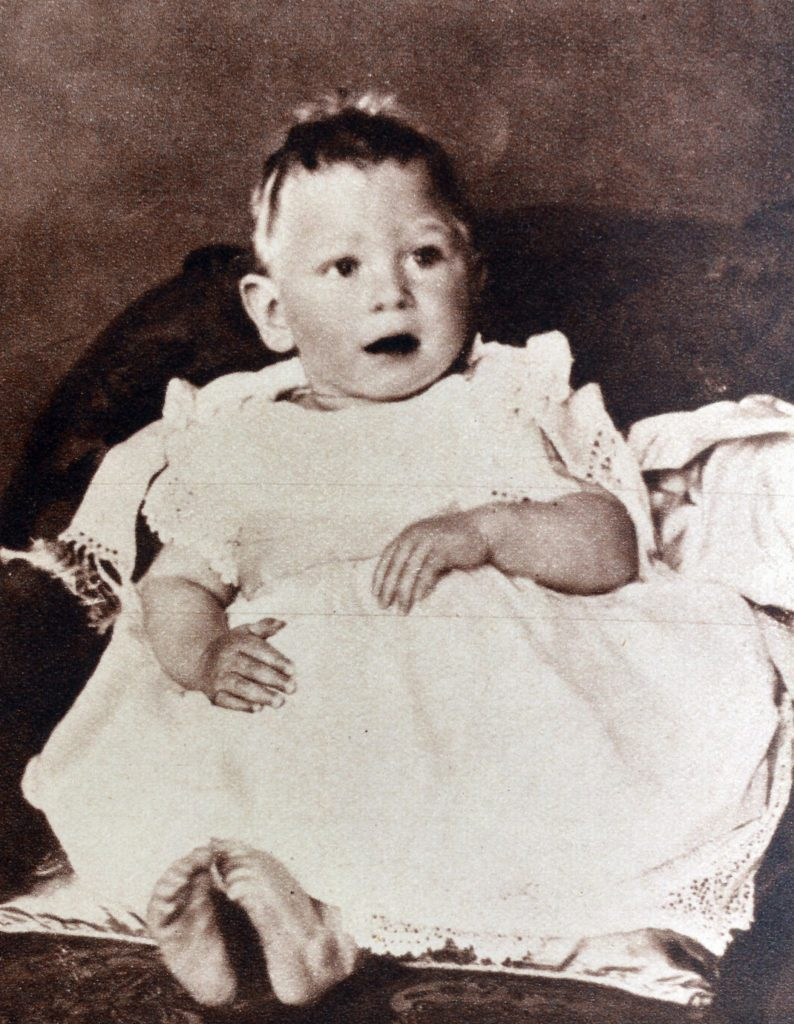 VARIOUS Image shows a young Prince Albert, the Duke of York (later King George VI).