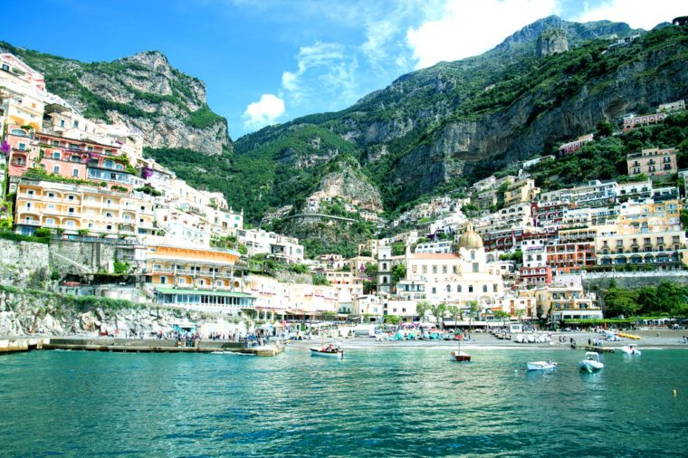 Bay of Positano Italy