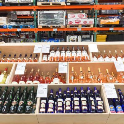 alcohol at costco