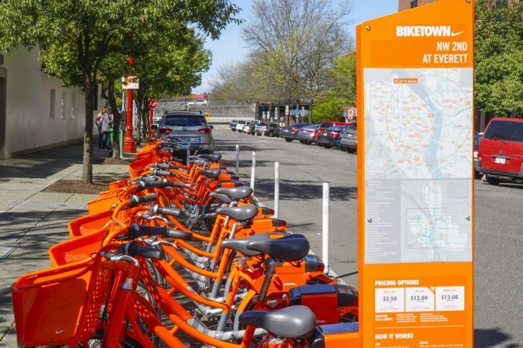 portland oregon bikes