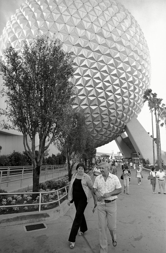 Disney World EPCOT 1982, Lake Buena Vista, USA