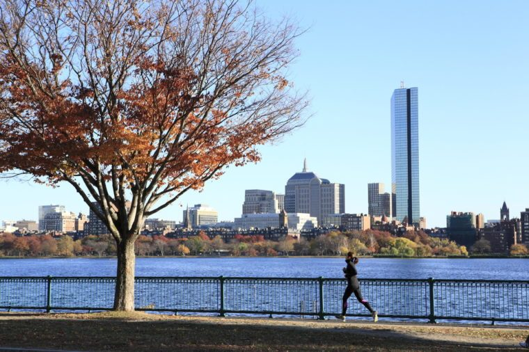 boston jogging