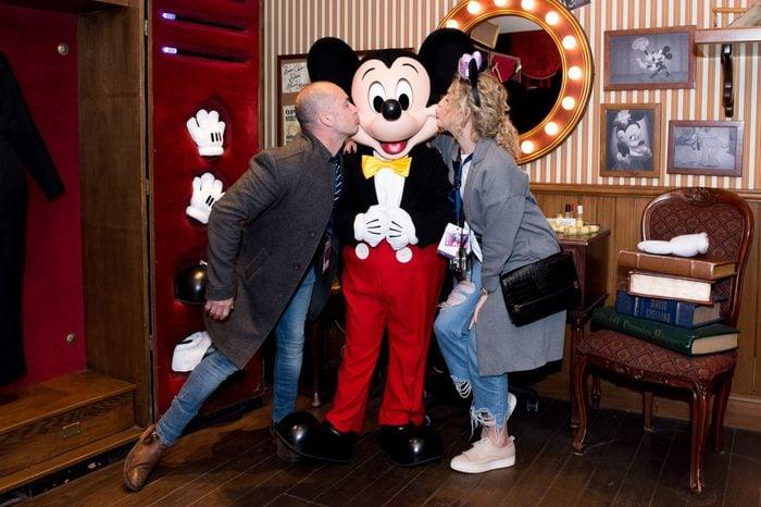 British Airways and Disneyland Paris Charity Day Trip, Disneyland Paris, France - 18 Apr 2017