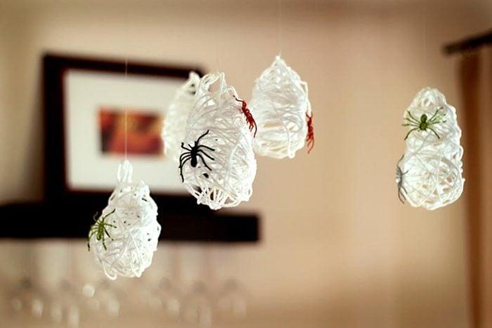 spider sacks halloween craft