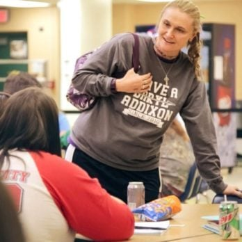 This Teacher Saved a Cafeteria of Students from an Active Shooter