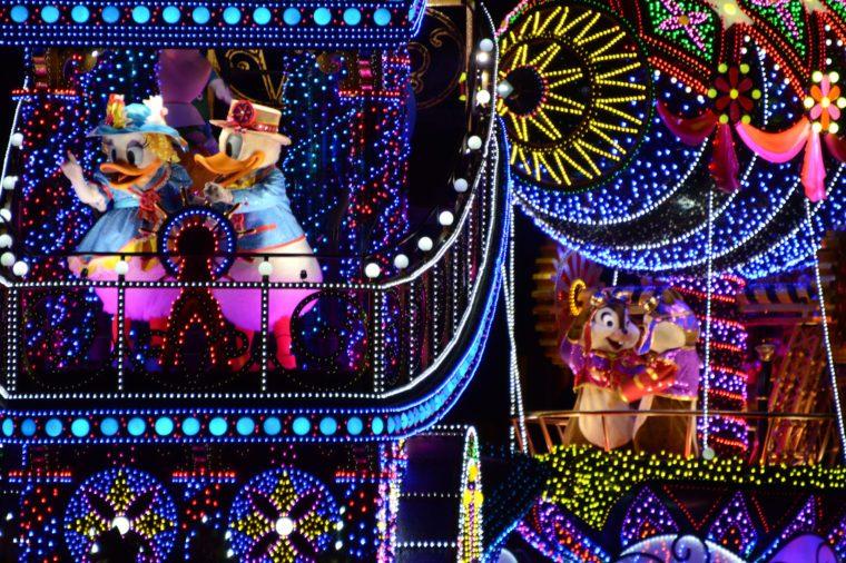 Tokyo Disneyland Parade, Japan - 24 Sep 2015