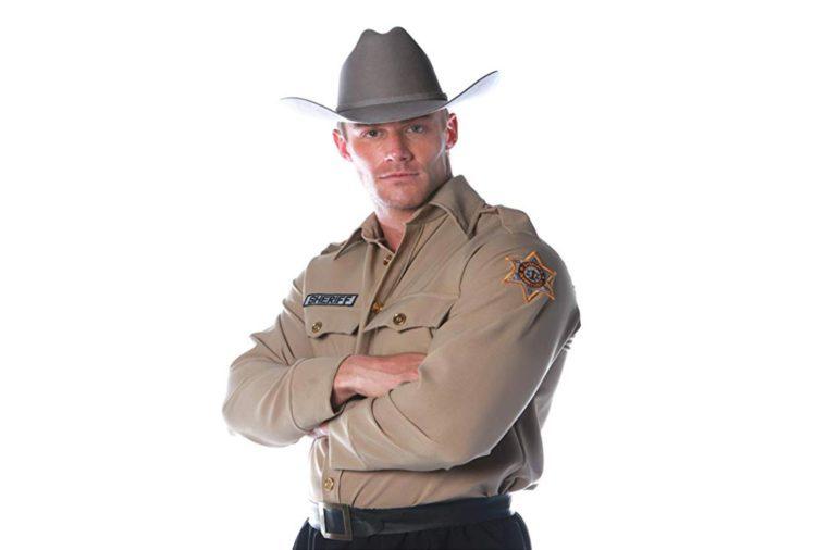 Underwraps Costumes Men's Sheriff Costume - Shirt