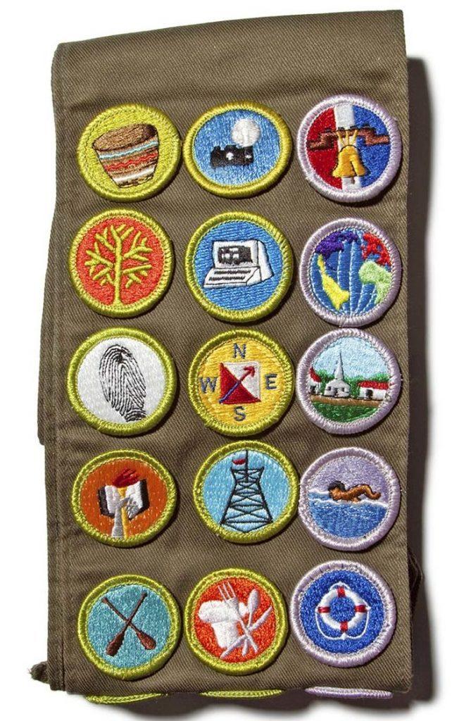 boy scout vest
