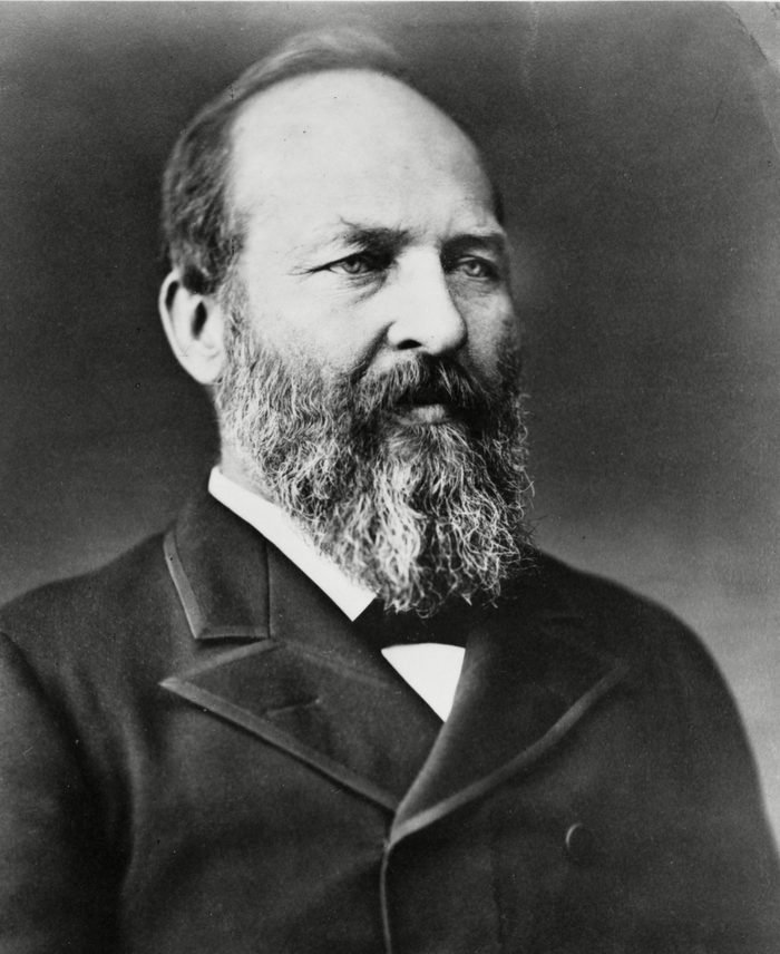 Various Between 1870 and 1881 - James A. Garfield. Assassinated President of the United States.