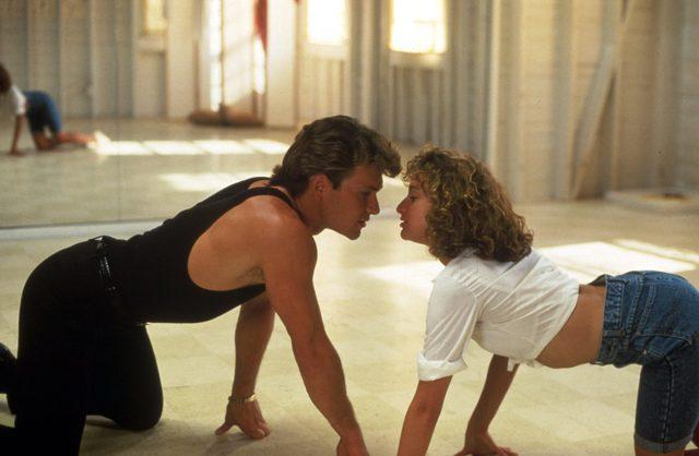 VARIOUS FILM STILLS OF 'DIRTY DANCING' WITH 1987, EMILE ARDOLINO, JENNIFER GREY, PATRICK SWAYZE IN 1987