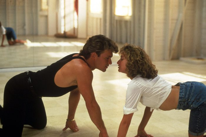 VARIOUS FILM STILLS OF 'DIRTY DANCING' WITH 1987, EMILE ARDOLINO, JENNIFER GREY, PATRICK SWAYZE IN 1987