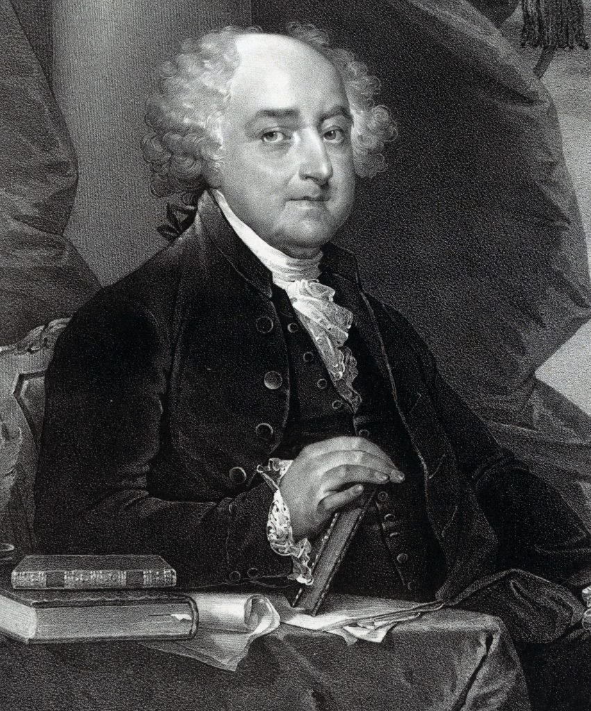 VARIOUS John Adams, President of the United States of America. Adams was the second president of the United States having already served as the country's first vice president. He was also one of America's Founding Fathers.