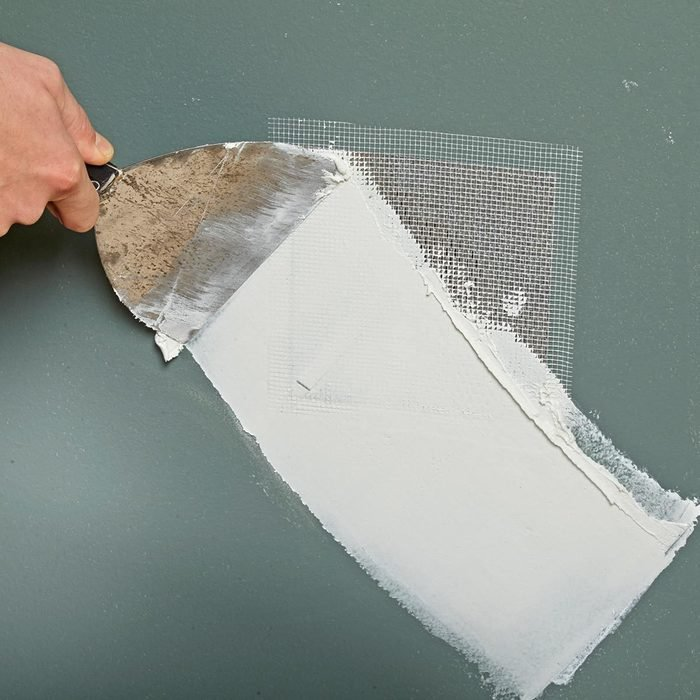 patching a wall