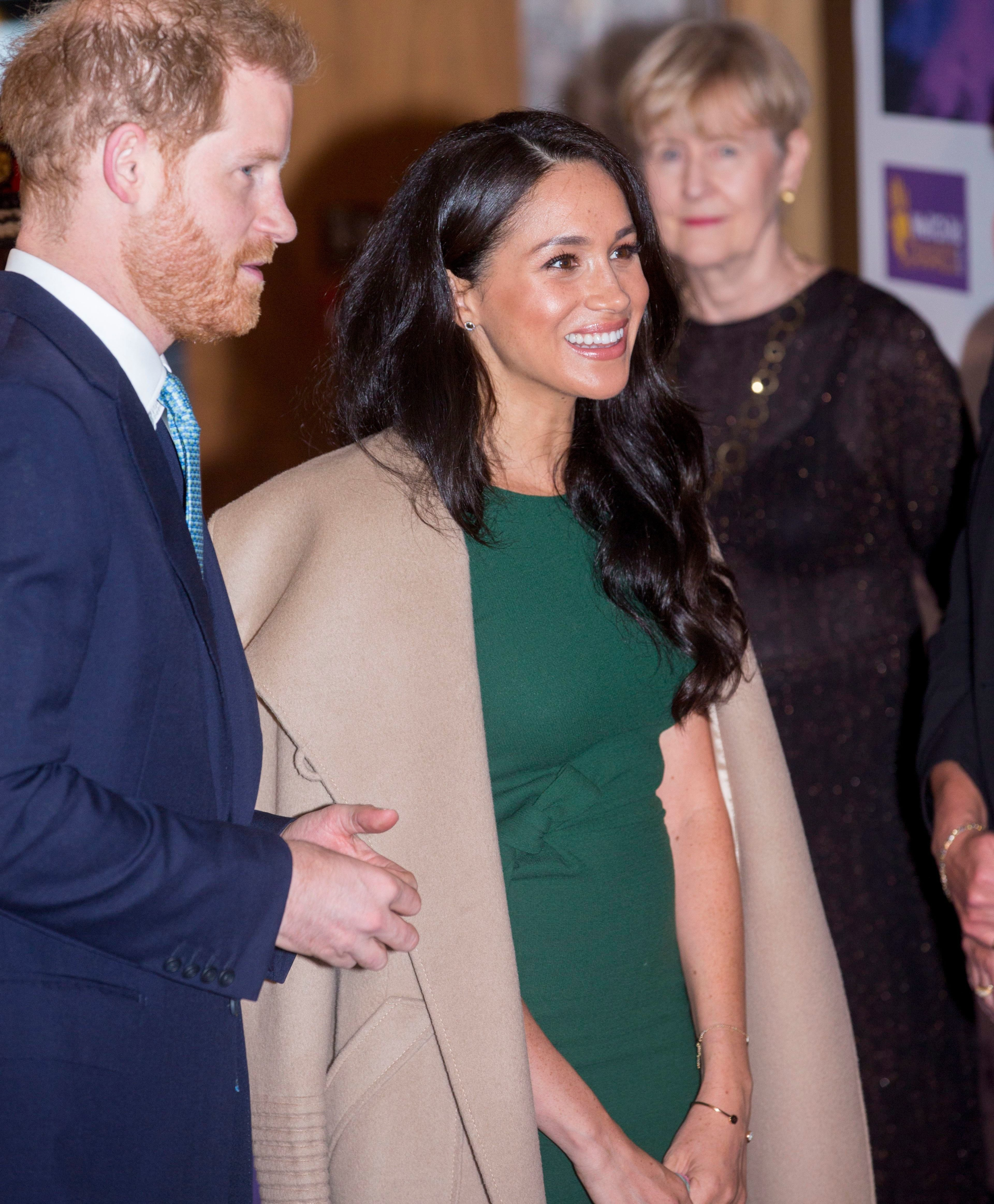 Mandatory Credit: Photo by Shutterstock (10444958m) Prince Harry and Meghan Duchess of Sussex WellChild Awards, Royal Lancaster Hotel, London, UK - 15 Oct 2019 The Duke and Duchess of Sussex will attend the annual WellChild Awards where they will praise the courage of seriously ill children and their families, and thank those who care for and support them. The WellChild Awards celebrate the inspiring qualities of some of the country's seriously ill young people and the dedication of those who go the extra mile to keep children healthy and happy, including the outstanding health, social care and education professionals.