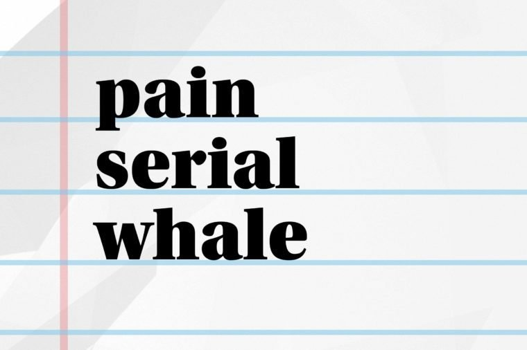 pain serial whale