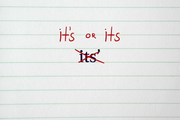 How You're Still Using an Apostrophe Wrong | Reader's Digest