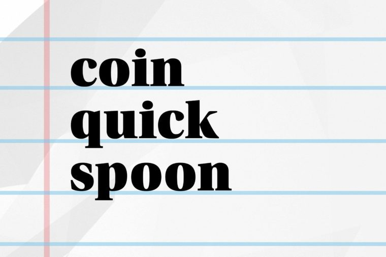 coin quick spoon