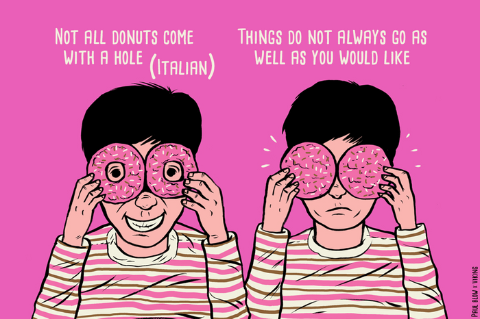 not all donuts come with a hole
