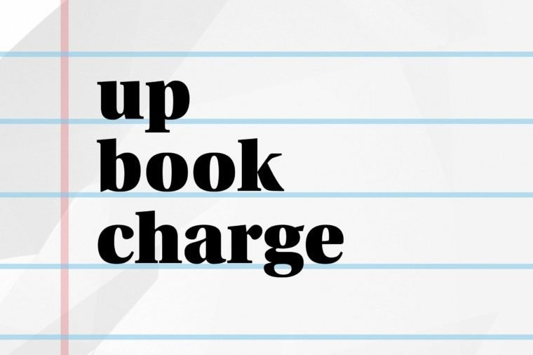 up book charge