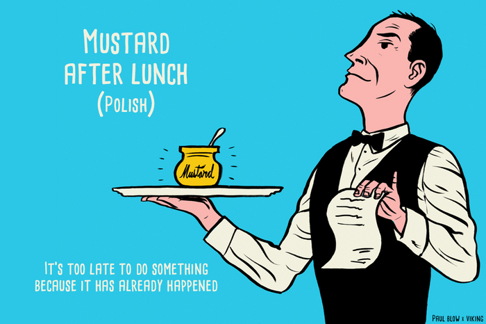 mustard after lunch