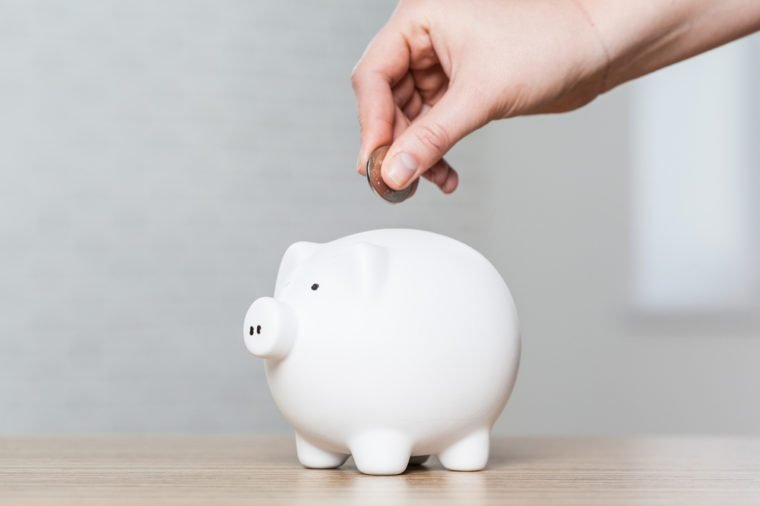 Piggy Bank, Savings, Currency