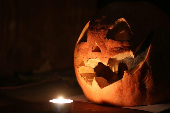 pumpkin halloween dark
