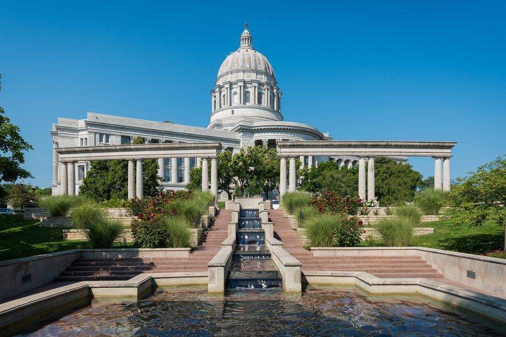 Missouri State Capitol in Jefferson City, Missouri