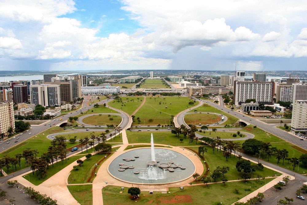Brasilia skyline, the federal capital of Brazil