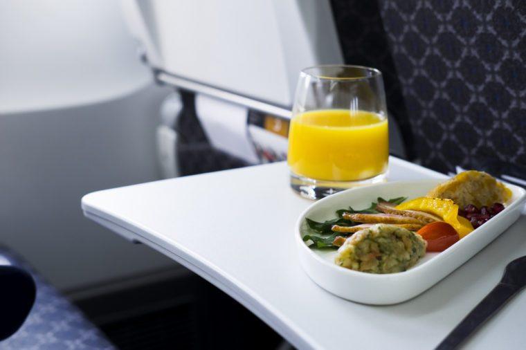 meals on board