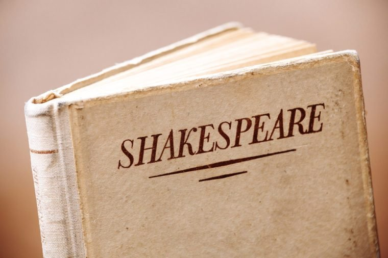 An old book by Shakespeare