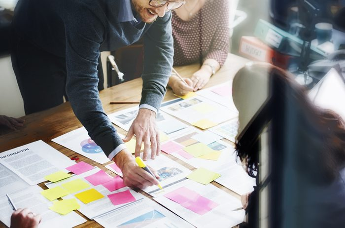 Business People Planning Strategy Analysis Office Concept