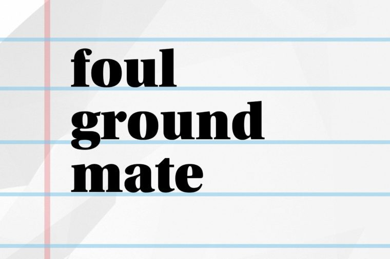 foul ground mate