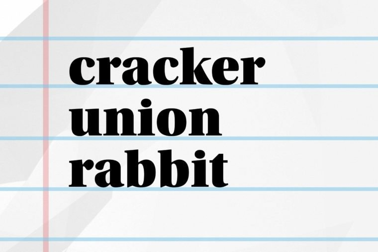 word cracker answers