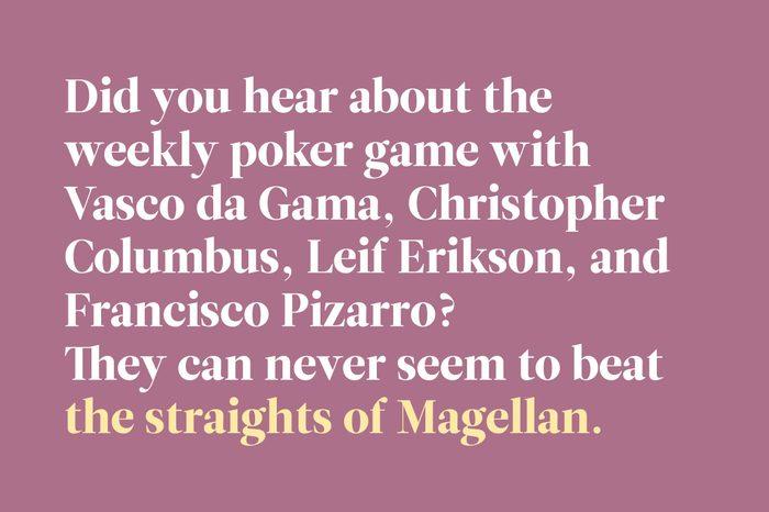 straights of magellan