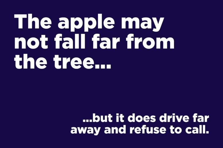 apple fall far