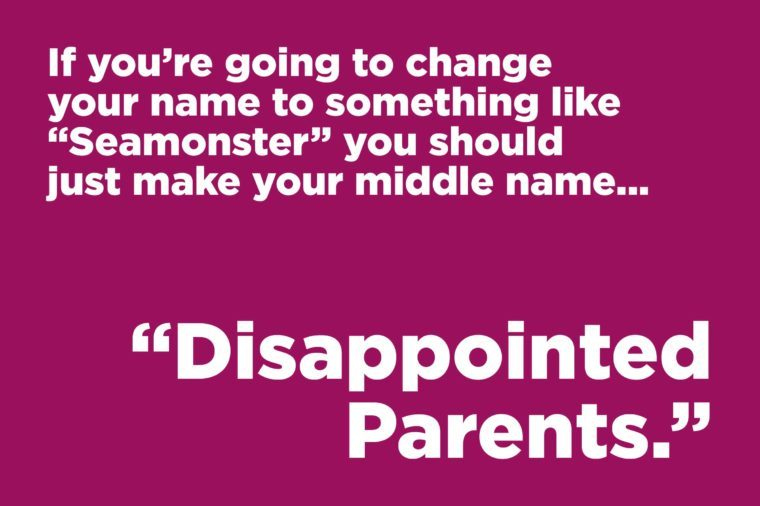 disappointed parents