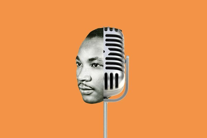 MLK Jr got a C in public speaking