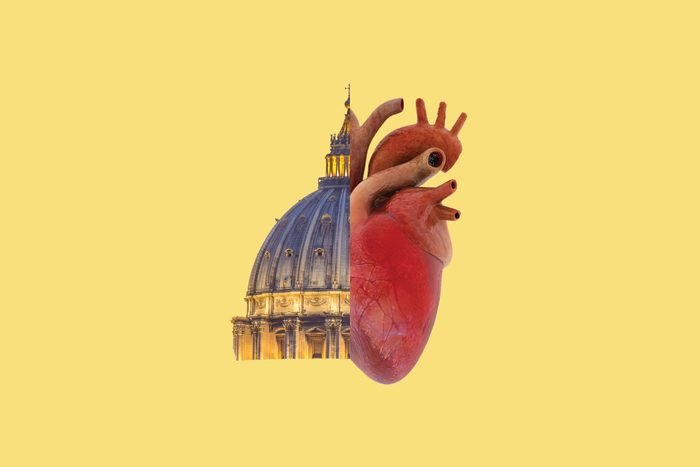 pope cannot be an organ doner