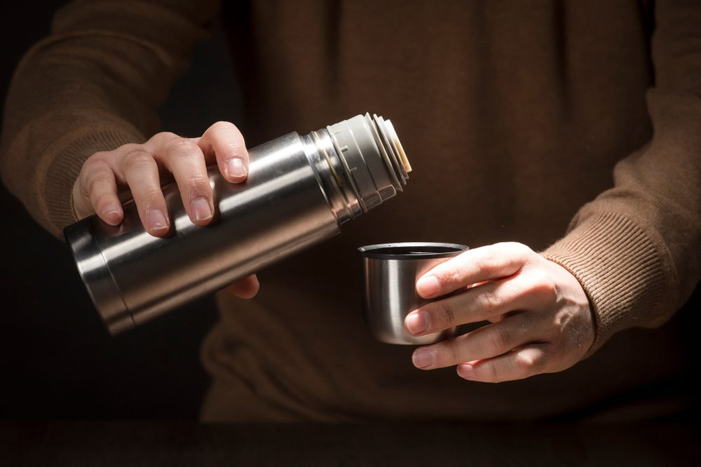 Using vinegar to clean thermos
