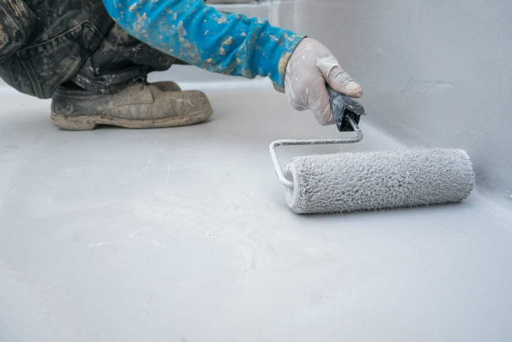 vinegar uses keep paint on cement