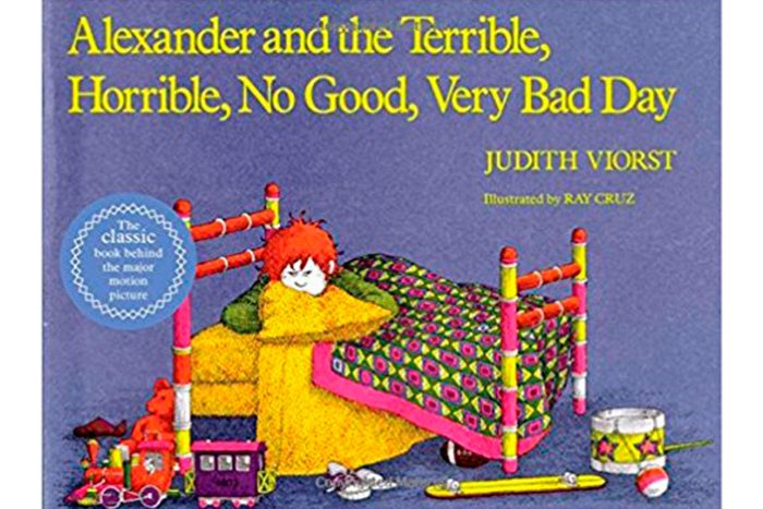 Alexander and the ....very bad day