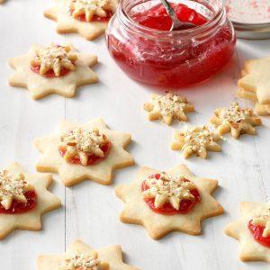 Pennsylvania: Almond Raspberry Stars
