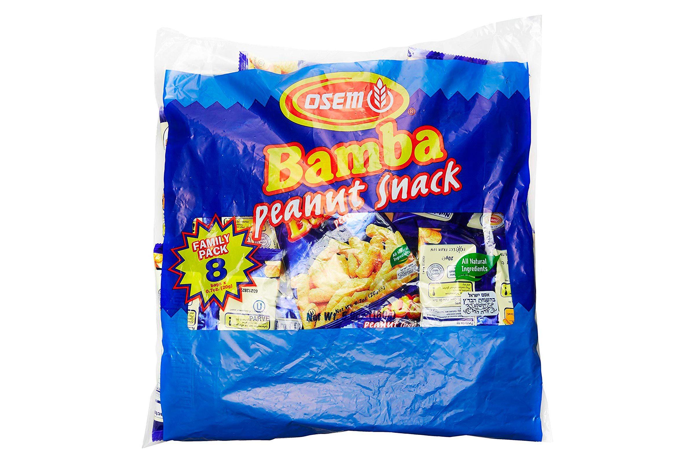 Bamba peanut snacks