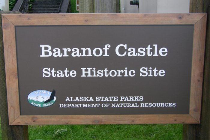 Baranof castle alaska