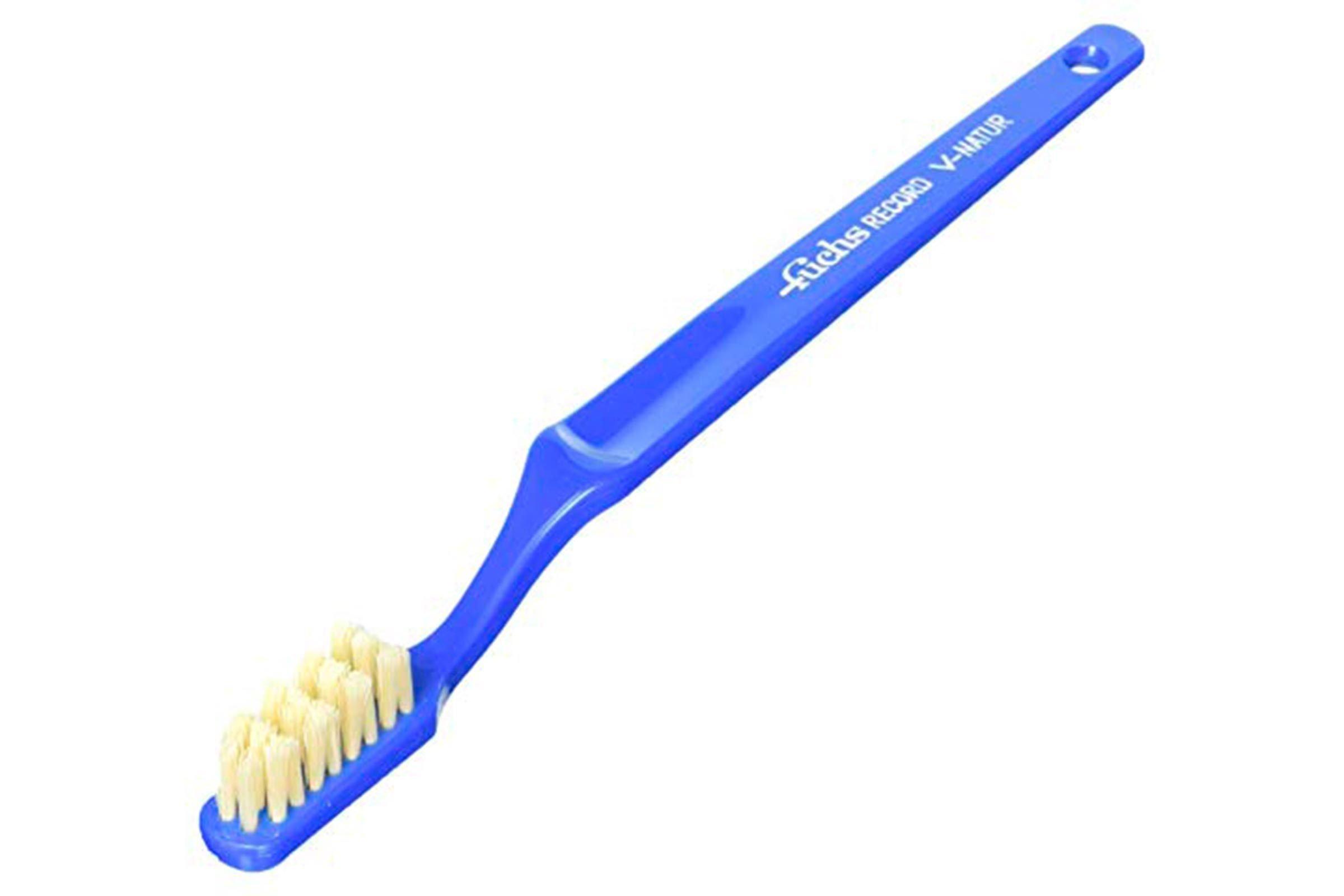 Boar bristle toothbrush