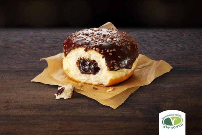 Chocolatey donut