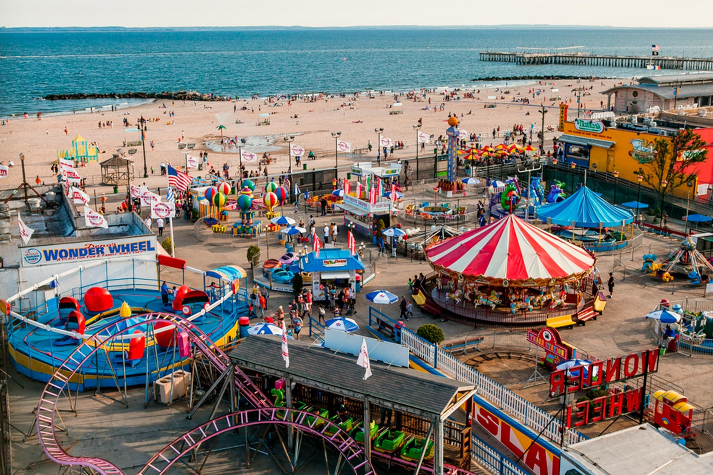 Coney Island Boardwalk